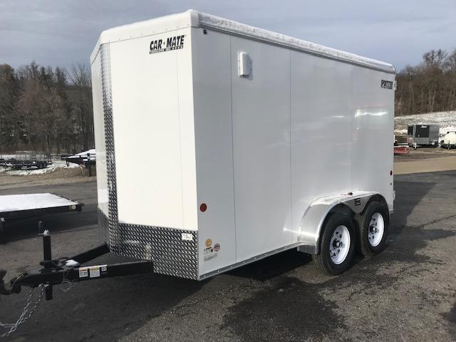 2020 Car Mate Trailers CM612ECV-HD Tandem Axle Enclosed Cargo Trailer