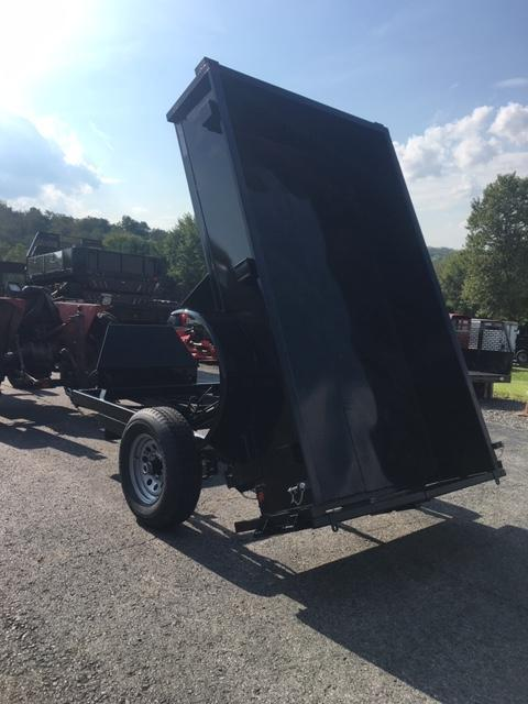 2020 Griffin GT608 5X8 Single Axle Dump Trailer