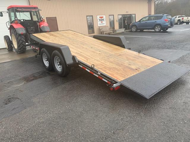 "2020 Quality Trailers 82"" x 18' Professional Grade Tilt Skid Steer 15K Equipment Trailer"