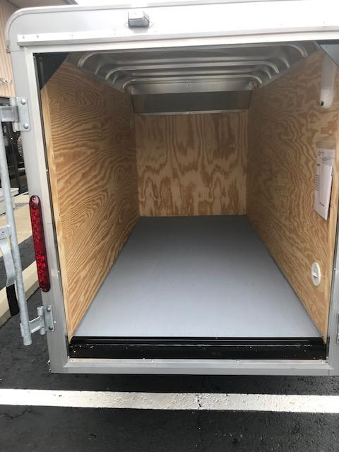 2019 Car Mate Trailers LITE DUTY 4 X 8 CUSTOM CARGO Enclosed Cargo Trailer
