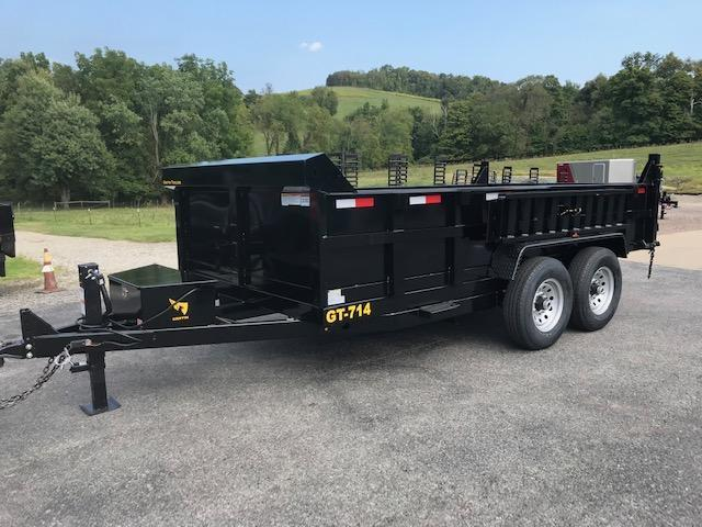 2020 Griffin 7 x 14 Low Profile 14K Dump Trailer