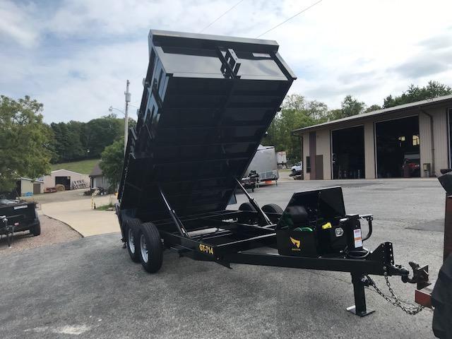 2020 Griffin 7 x 14 Low Profile 14K Dump Trailer