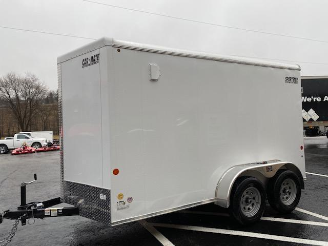2020 Car Mate Trailers CM712ECV-HD Tandem Axle Enclosed Cargo Trailer