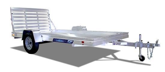 2020 Aluma 7814ESA-S-TG Utility Trailer