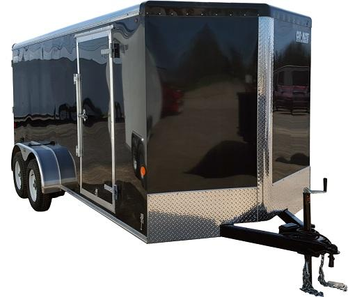 2020 Car Mate Trailers CM716ECV-HD Tandem Axle Enclosed Cargo Trailer