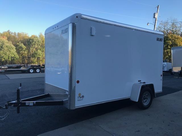 2020 Car Mate Trailers CM612CC -6W Single Axle Custom Cargo Trailer W/ RAMP DOOR