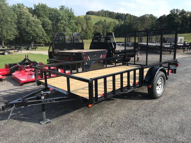2020 Quality 6 x 12 Single Axle Landscape Trailer PRO w/ Side Ramps