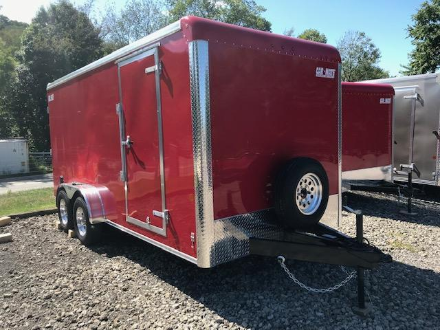 2019 Car Mate Trailers HD Custom Cargo Enclosed Cargo Trailer