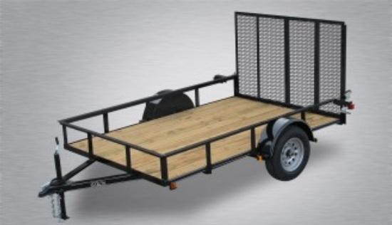 2019 Quality 5 x 10 Single Axle Landscape Trailer Economy