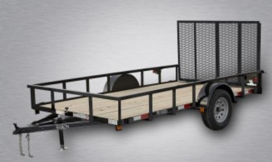 2019 Quality 6 x 12 Single Axle Landscape Trailer PRO