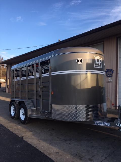 2020 Corn Pro 6x14 7K Livestock  Trailer
