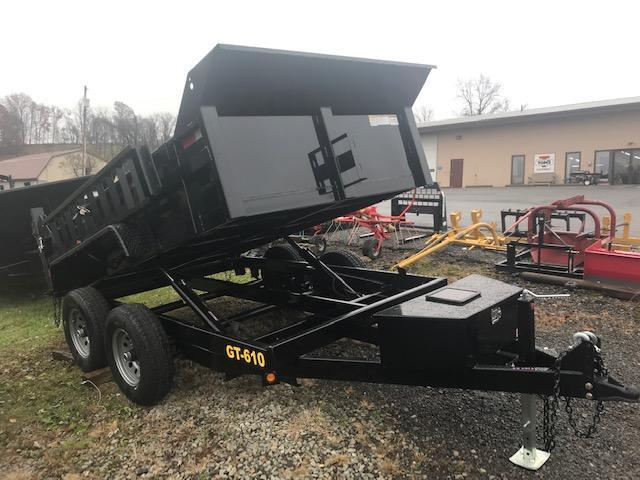 2019 Griffin 6 x 10 Low Profile 10K Dump Trailer