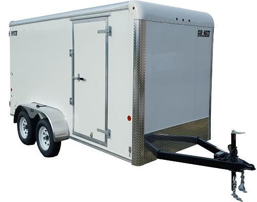 2020 Car Mate Trailers CM712EC-HD Tandem Axle Enclosed Cargo Trailer W/ Barn Doors