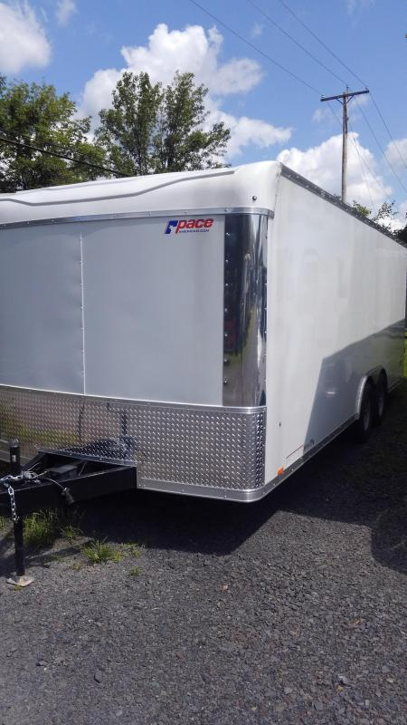 2020 Pace American PXT 8.5 x 20 Extreme Flat Top  Cargo / Enclosed Trailer