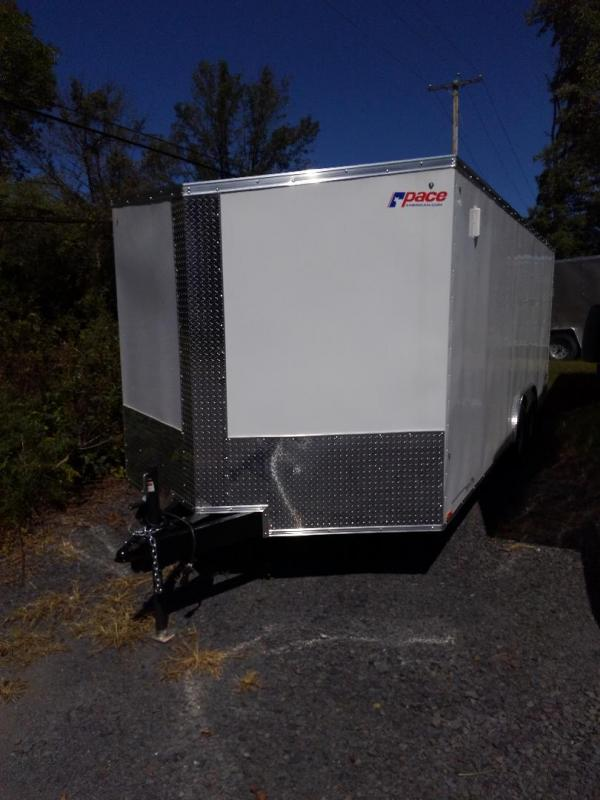2020 Pace American Journey Se Cargo 10000 Gvw Cargo / Enclosed Trailer 8.5 x 24