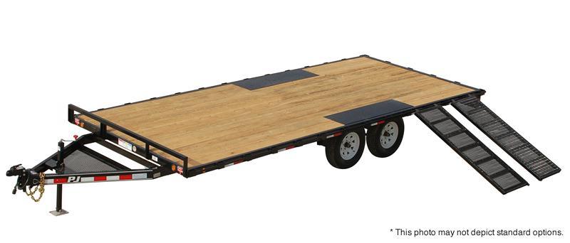 2017 pj trailers 14 39 light duty deckover 5 channel. Black Bedroom Furniture Sets. Home Design Ideas