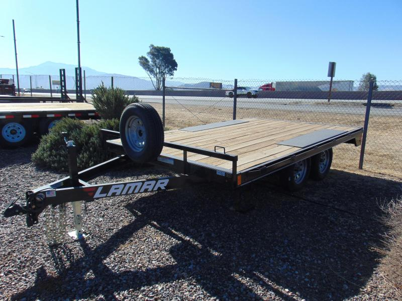 2018 Lamar Trailers 12 DECK OVER Flatbed Trailer