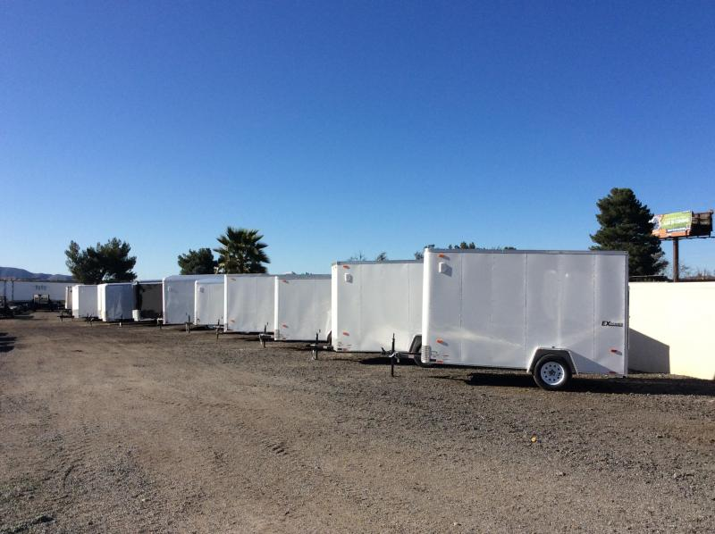 2018 Cargo Express 6 X 10 EX Cargo / Enclosed Trailer