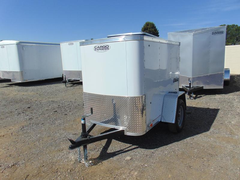 2019 Cargo Express 4X6 Enclosed Cargo Trailer