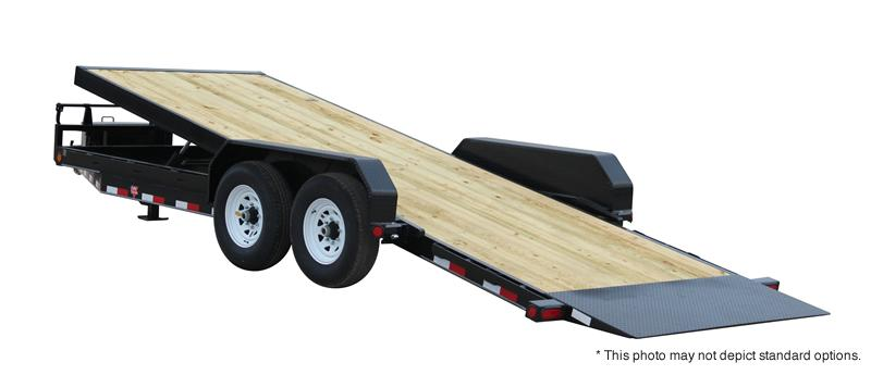 2018 PJ Trailers 24' Powered Full Tilt Trailer