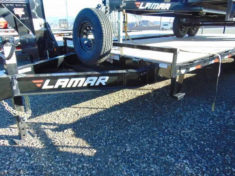 2019 Lamar Trailers 102 X 24 Heavy Duty Deck-Over Flatbed (FS) Equipment Trailer
