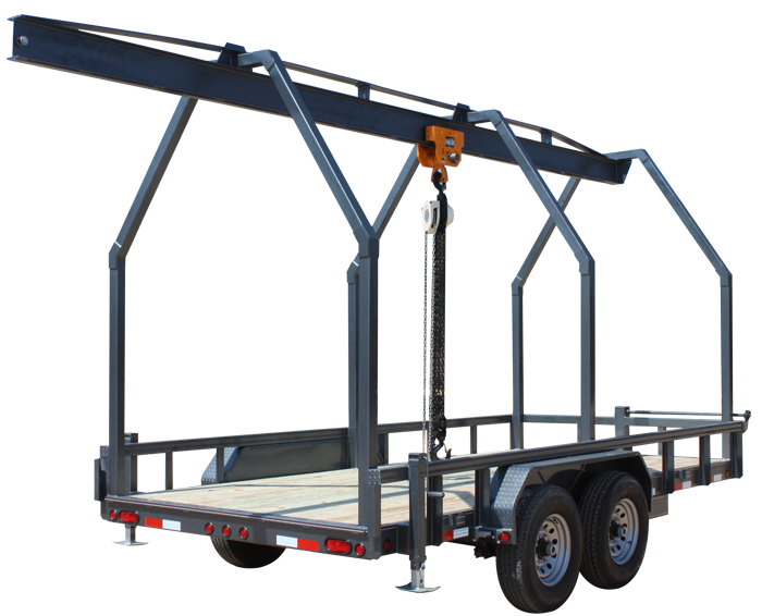 2018 Lamar Trailers Mono Rail Trailer (MR)