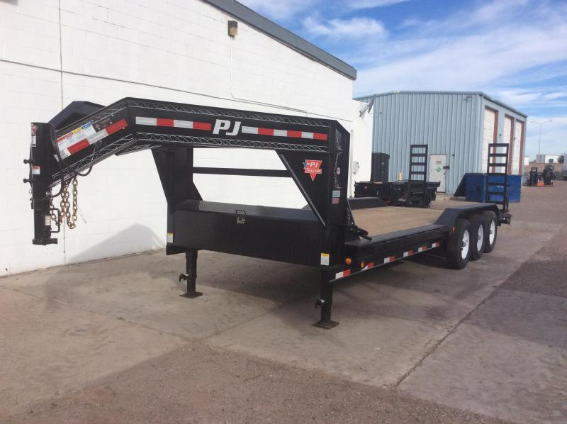 "2017 PJ Trailers 26' x 8"" Channel Super-Wide Trailer"
