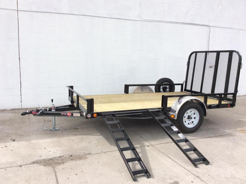 "2017 PJ Trailers 10' x 83"" Channel Utility Trailer"