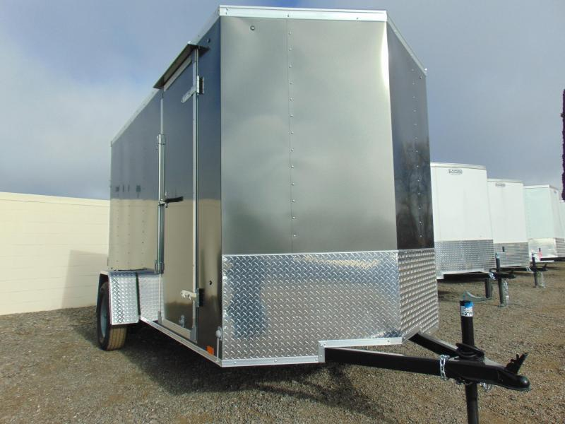 2019 Cargo Express 6X12 Single Axle Enclosed Cargo Trailer