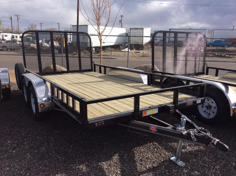 "ON SALE!!!! 2017 PJ Trailers 20' x 83"" Channel Utility Trailer"