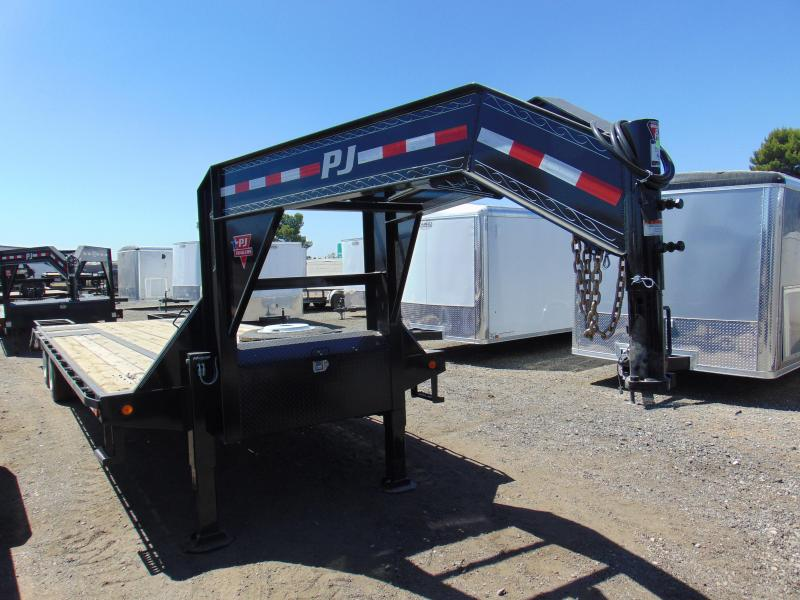2019 PJ Trailers 30 Gooseneck Equipment Trailer