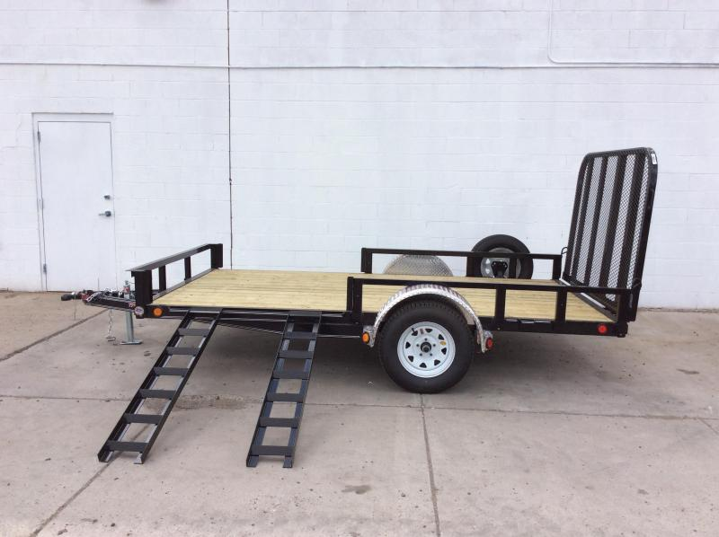 "2018 PJ Trailers 12' x 83"" Channel Utility Trailer"