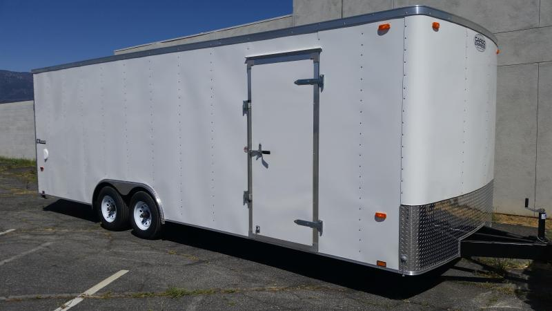 2018 Cargo Express 8.5 X 24 EX Cargo / Enclosed Trailer