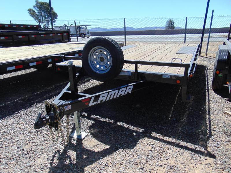 2018 Lamar Trailers 16 x 102 DECK OVER Flatbed Trailer