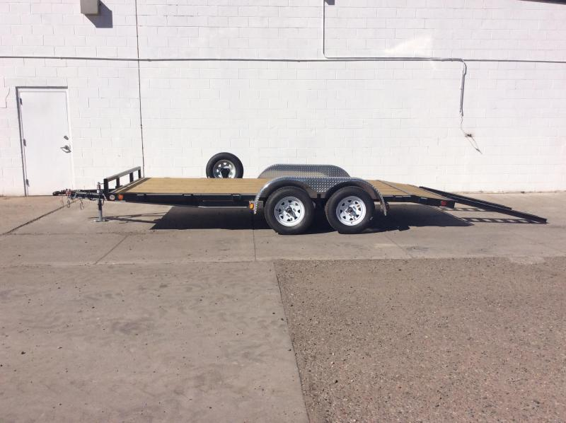"2017 PJ Trailers 16' x 5"" Channel Carhauler Trailer"