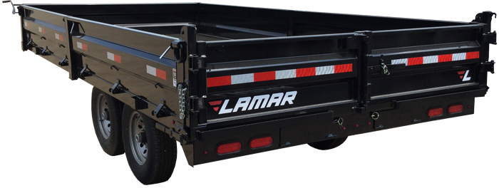 2018 Lamar Trailers Deck-Over Dump Trailer (DO)