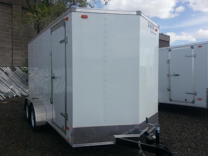 2018 Cargo Express 7X14 EX Cargo / Enclosed Trailer