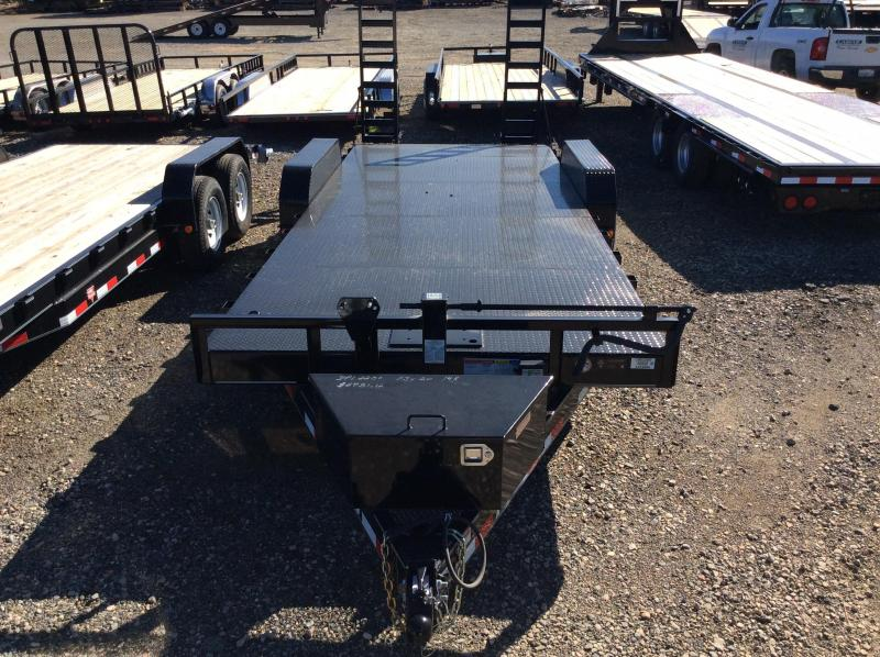 "2017 PJ Trailers 16' x 6"" Channel Equipment Trailer"