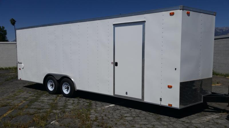 2016 Cargo Express 8.5 X 24 LX Cargo / Enclosed Trailer