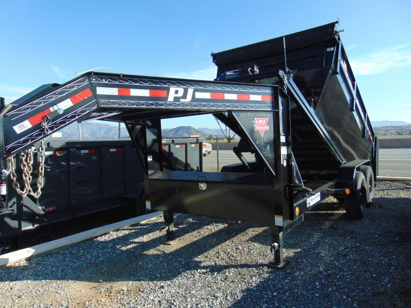 2018 PJ Trailers Rollster Roll Off Dump (DR) Dump Trailer