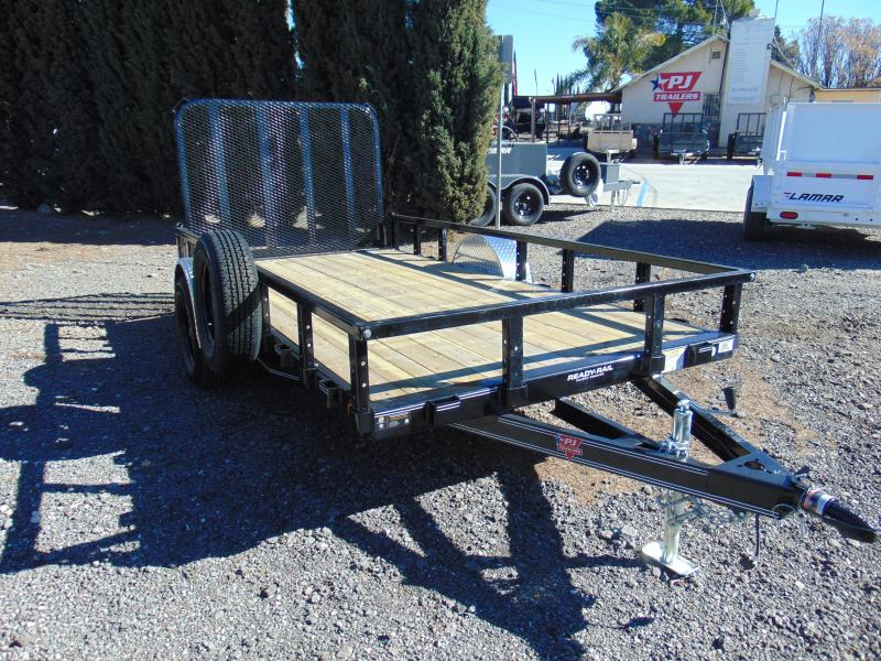 2019 PJ Trailers 72X12 Single Axle Utility Trailer