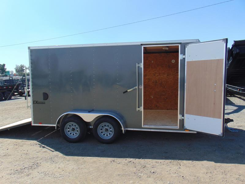 2019 Cargo Express 7X14 Tandem Axle Enclosed Cargo Trailer