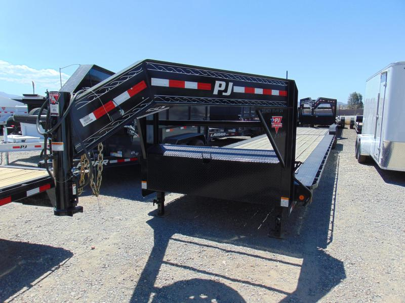 2018 PJ Trailers Gooseneck Tilt Bed Equipment Trailer