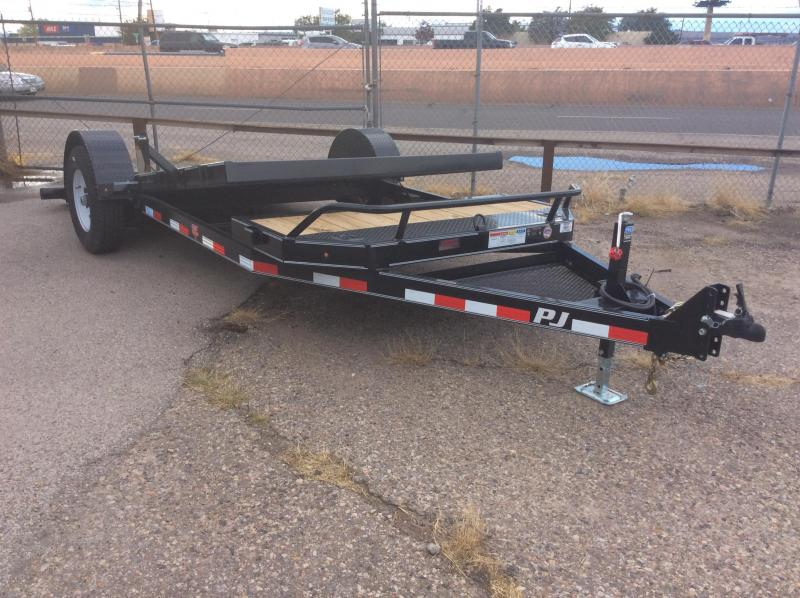 2017 PJ Trailers 16' Single Axle HD Tilt Trailer