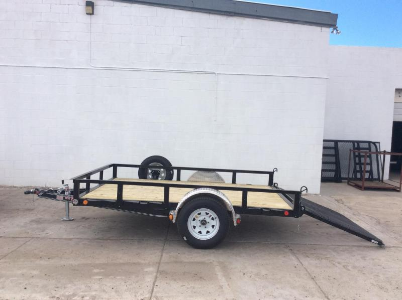 "2018 PJ Trailers 10' x 83"" Channel Utility Trailer"