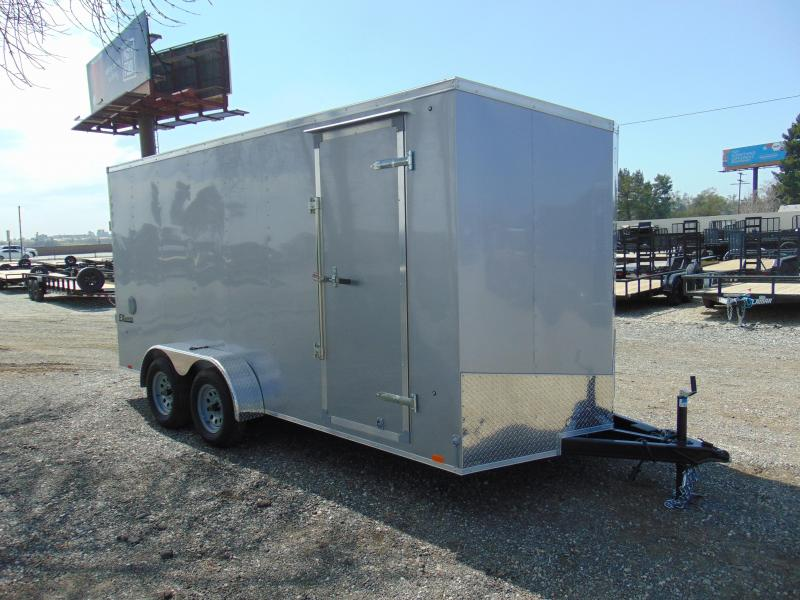 2019 Cargo Express 7X16 Tandem Axle Enclosed Cargo Trailer