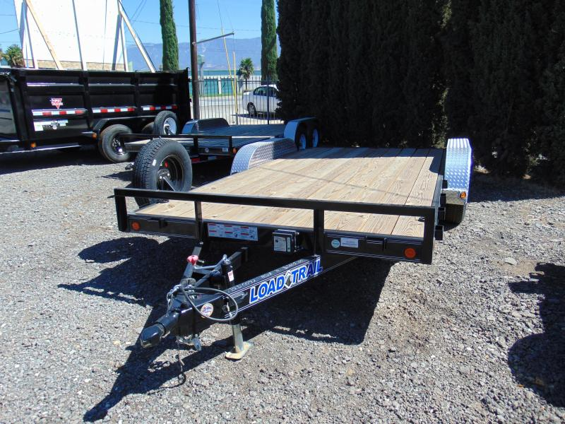2018 Load Trail CH07 Carhauler 83 x 16 Car / Racing Trailer