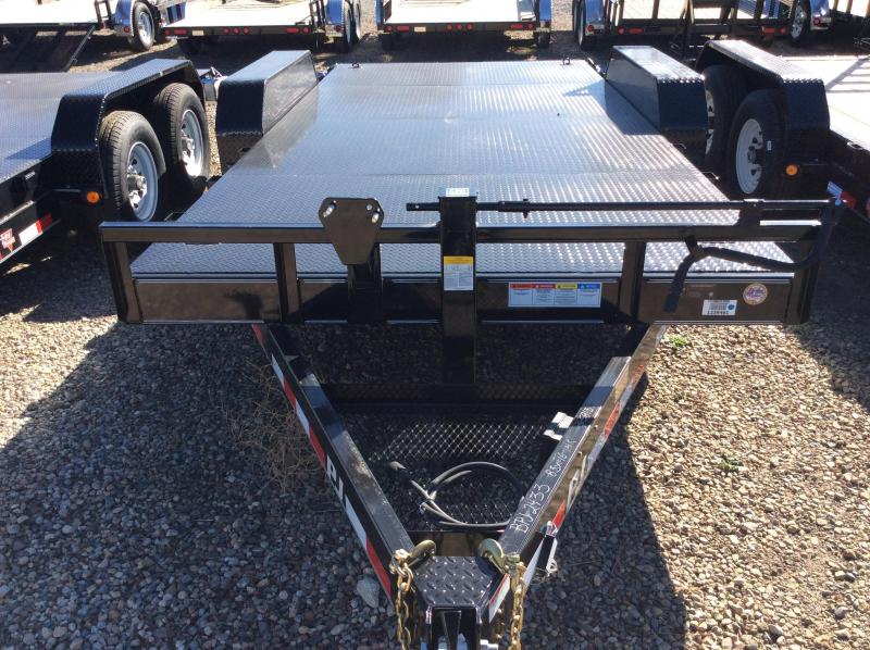"2018 PJ Trailers 24' x 6"" Channel Super-Wide Trailer"