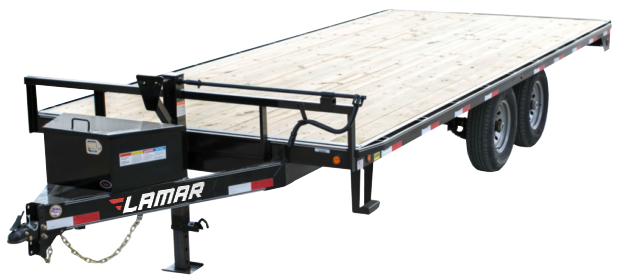 2018 Lamar Trailers Deck-Over Flatbed (F5)