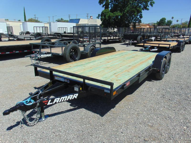 2019 Lamar Trailers 83X18 Car / Racing Trailer
